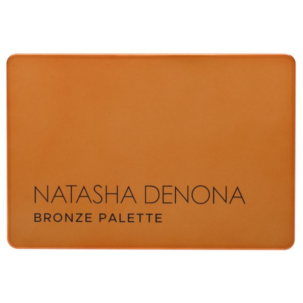 NATASHA DENONA Bronze Eyeshadow Palette Packaging