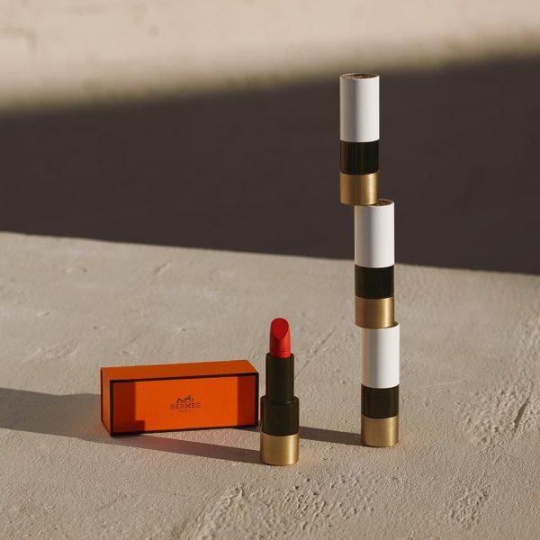 Rouge Hermes matte Lipstick Ambient