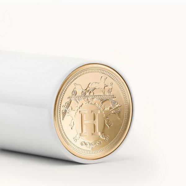 Rouge Hermes matte Lipstick Logo Coin