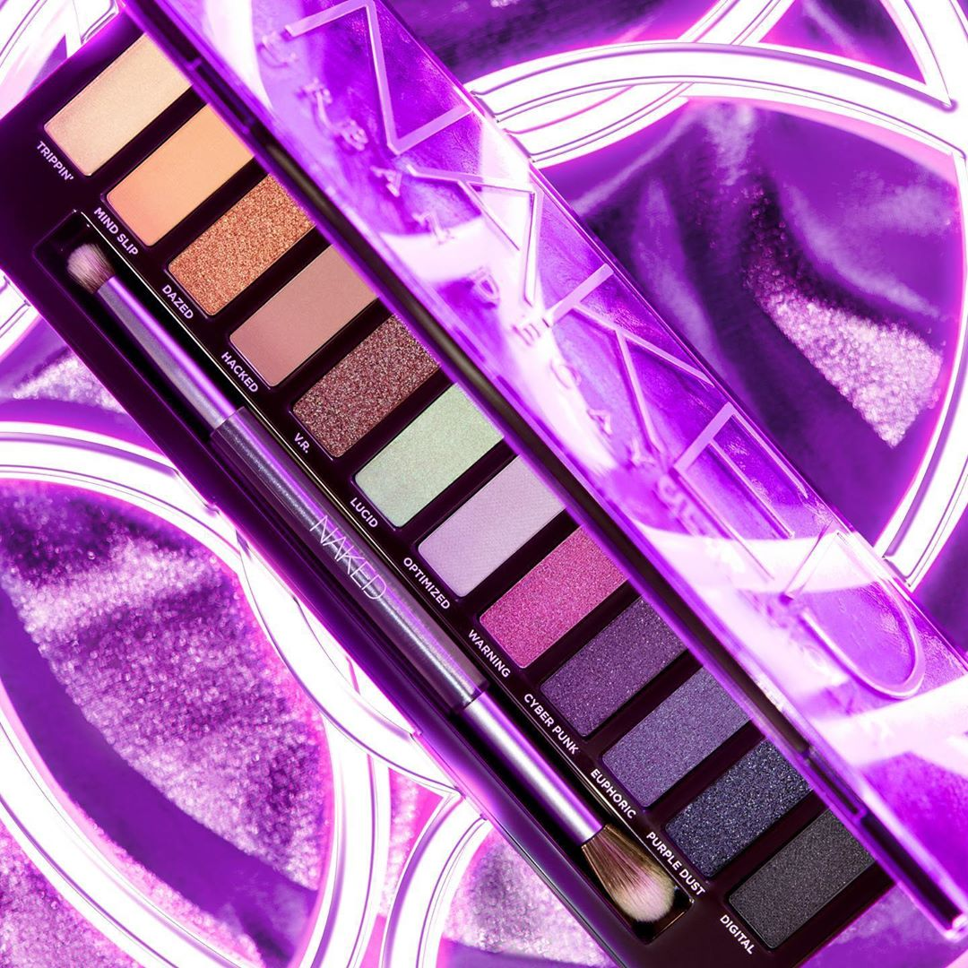 Urban Decay Naked Ultraviolet Eyeshadow Palette SWATCHES | NEW Reveal 2020