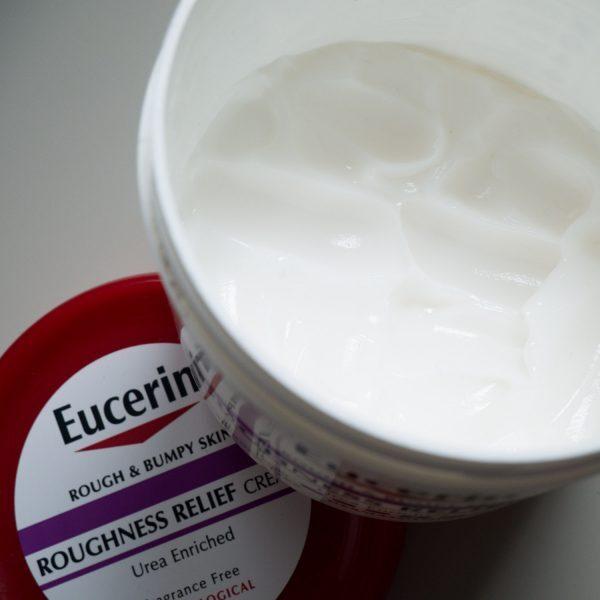 EUCERIN Rough Bumpy Skin Roughness Relief Cream Urea Textur