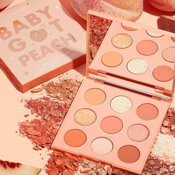 COLOURPOP Baby Got Peach Eyeshadow Palette Ambient
