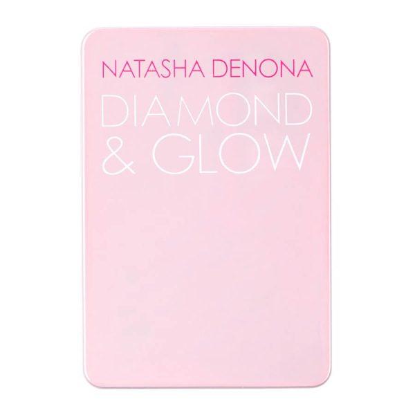 NATASHA DENONA Diamond Glow Mini Blush Highlighter Packaging