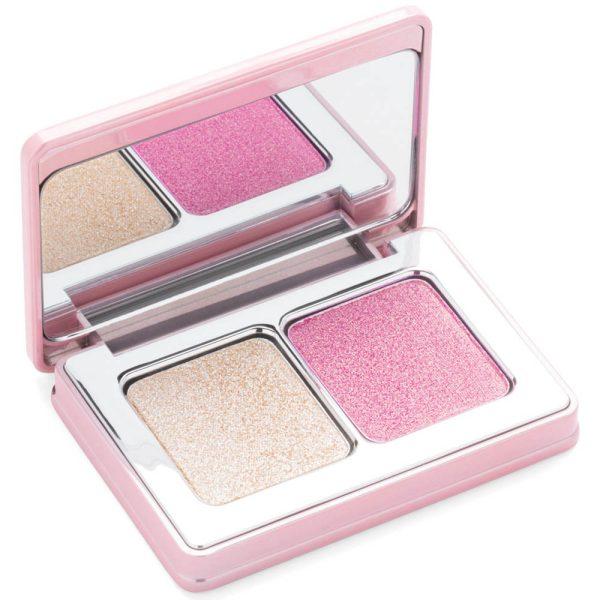 NATASHA DENONA Diamond Glow Mini Blush Highlighter open