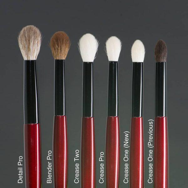 SONIA G Detail Pro Blending Brushes Comparison Pinselvergleich