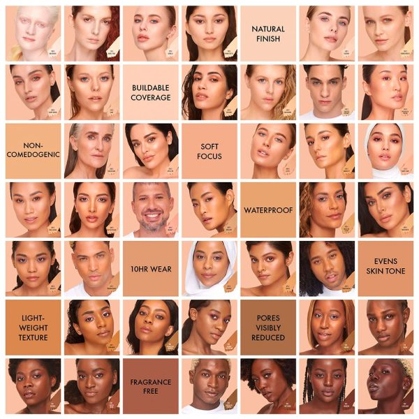 HUDA BEAUTY FauxFilter Skin Finish Buildable Coverage Foundation Stick Shades