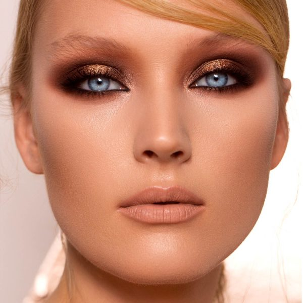 NATASHA DENONA Nude Palette Mini Smokey Eyes Look