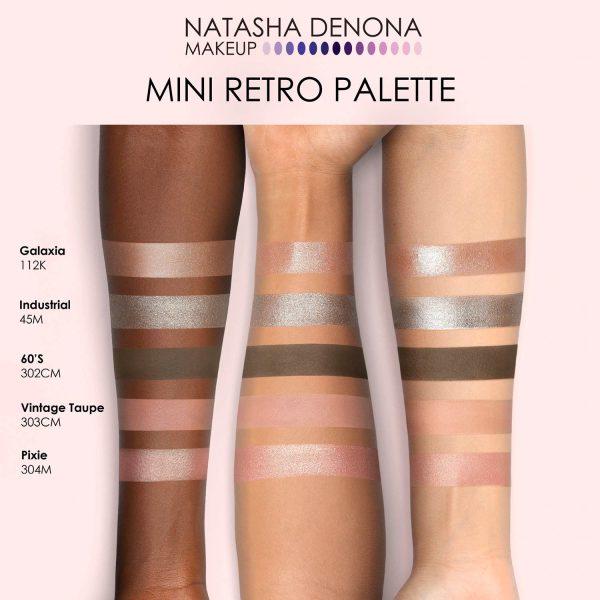 NATASHA DENONA Retro Palette Mini Swatches