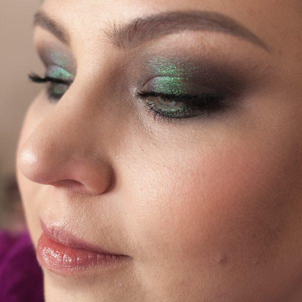 LINDA HALLBERG Enchanted Mysteries Eyeshadow Palette Multichrome Makeup Duochrome