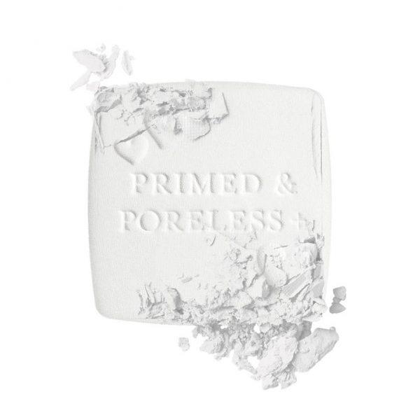 TOO FACED Primed Poreless Powder transparent mattifying Puder Textur Visual