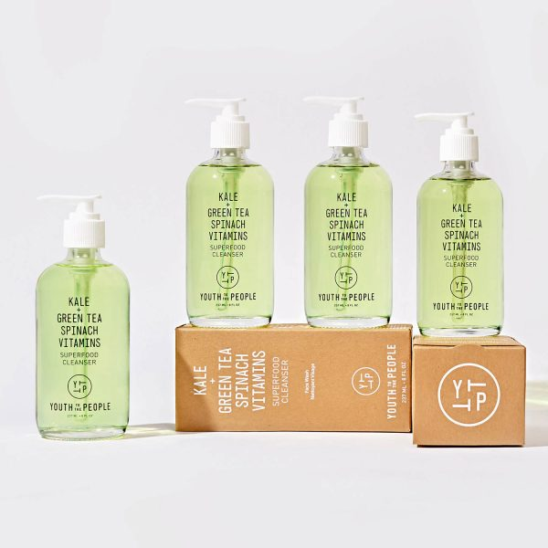 YOUTH TO THE PEOPLE Superfood Cleanser Kale Grean Tea Spinach Vitamins Reinigungsgel Collection