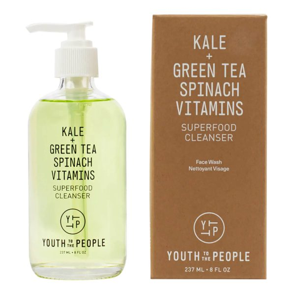 YOUTH TO THE PEOPLE Superfood Cleanser Kale Grean Tea Spinach Vitamins Reinigungsgel kaufen Deutschland bestellen Verpackung