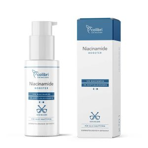 COLIBRI Niacinamide Booster Acetylglucosamin xskincare Leon Niacinamin Treatment gegen grobe Poren Pickel Pigmentierung