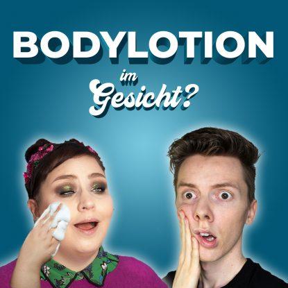 Pickel durch CeraVe Bodylotion im Gesicht statt Hautcreme verwenden