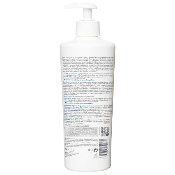 BIODERMA Atoderm Intensive Baume Bodylotion Körpermilch Inhaltsstoffe