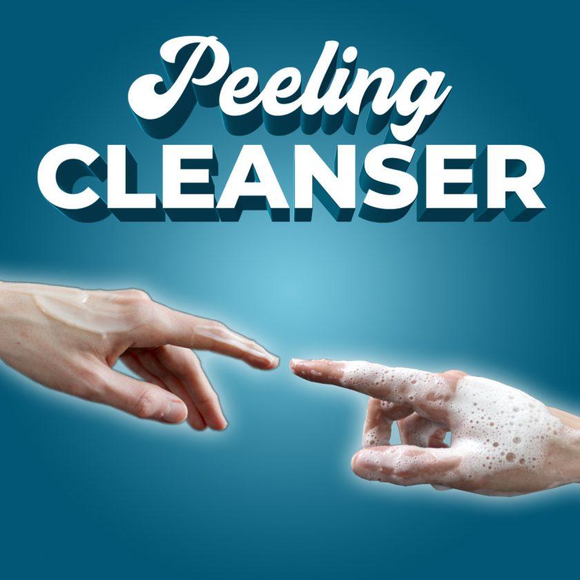 Peeling Cleanser AHA BHA PHA Reinigung Gesicht Exfoliator Cleansing