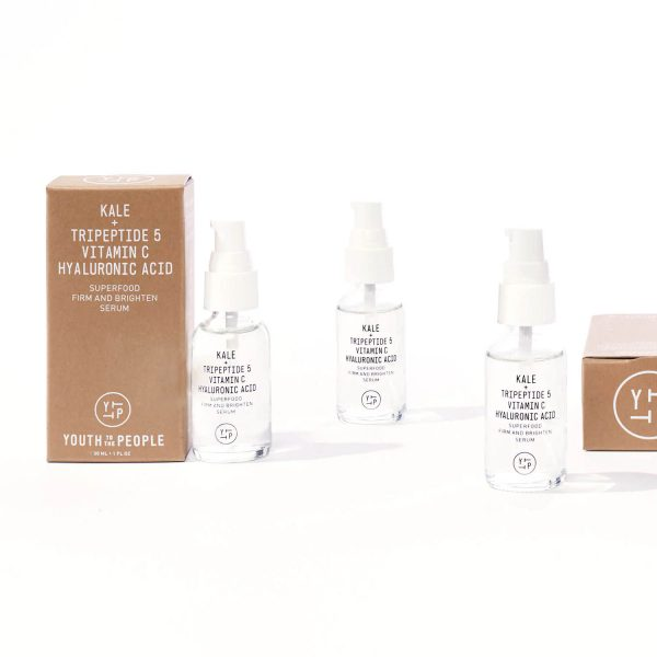 YOUTH TO THE PEOPLE Superfood Firm and Brighten Serum Antioxidant Treatment Group