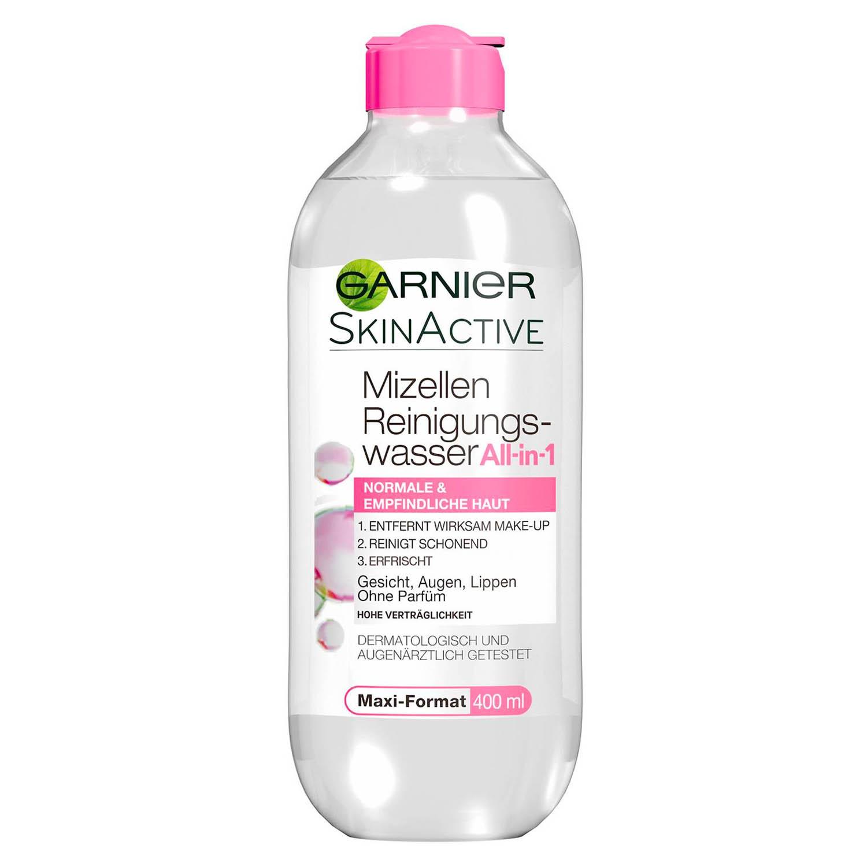 GARNIER SkinActive Mizellen Reinigungswasser All-in-1 normale empfindliche Haut