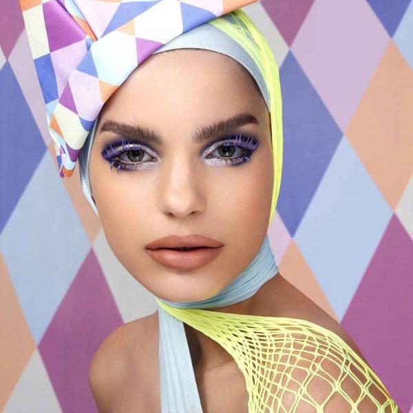 NATASHA DENONA Circo Loco Eyeshadow Palette Purple Look