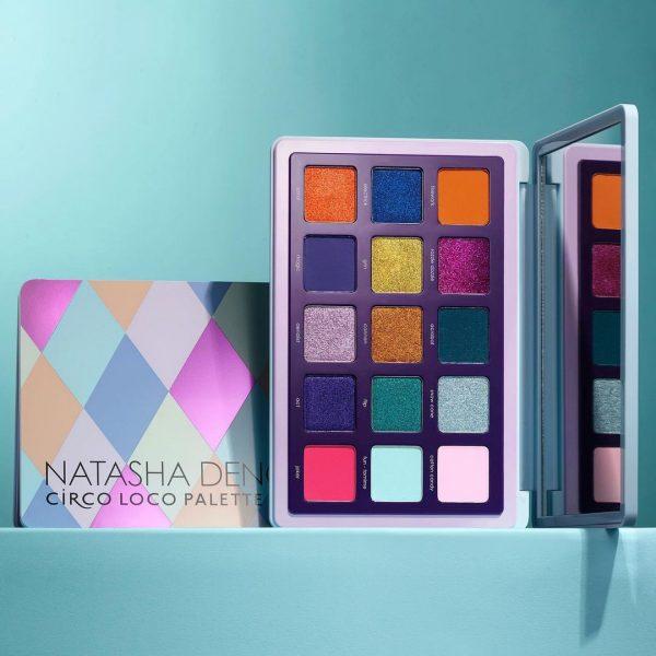 NATASHA DENONA Circo Loco Eyeshadow Palette Visual