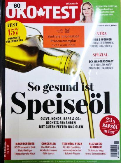 Öko Test Concealer Arsen Cover 2020 11 November