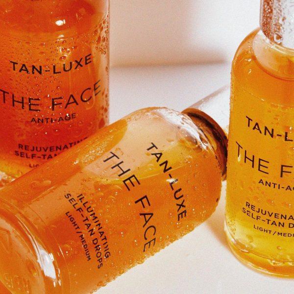 TAN-LUXE The Face Illuminating Tan Drops Visual Clouseup