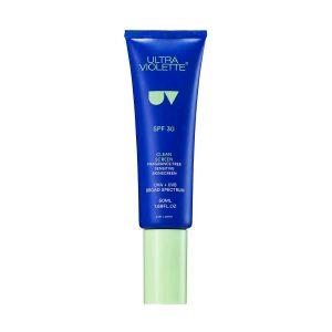 ULTRA VIOLETTE Clean Screen SPF 30 Fragrance Free Weightless Gel Skinscreen kaufen Deutschland bestellen Erfahrungen Review Empfehlung Sonnencreme UVA UVB Breitband UV-Schutz Ambient