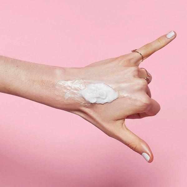 BANILA CO Clean It Zero Cleansing Balm Original Textur aufgetragen Erfahrungen