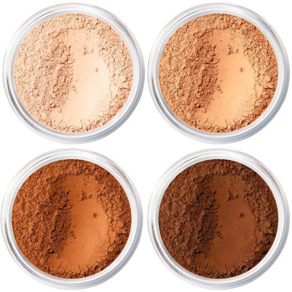 BAREMINERALS Matte Foundation SPF 15 Mineral Makeup Shades Colors welche Farbe Vergleich