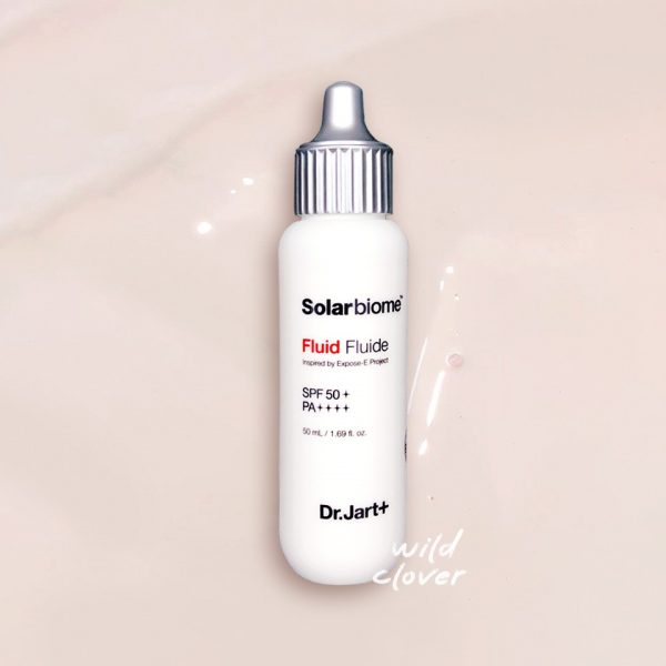 DR. JART Solarbiome Fluid SPF 50+ PA++++ Sunscreen Promo