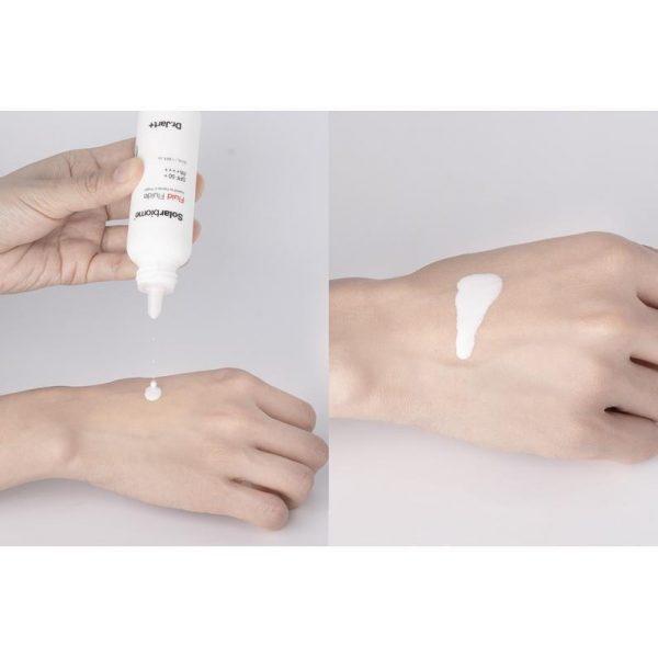 DR. JART Solarbiome Fluid SPF 50+ PA++++ Sunscreen Textur