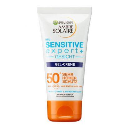 GARNIER AMBRE SOLAIRE Sensitive Expert Gesicht Gel Creme SPF 50