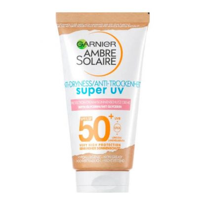 GARNIER AMBRE SOLAIRE Super UV Anti-Trockenheit Sonnenschutz-Creme SPF 50+