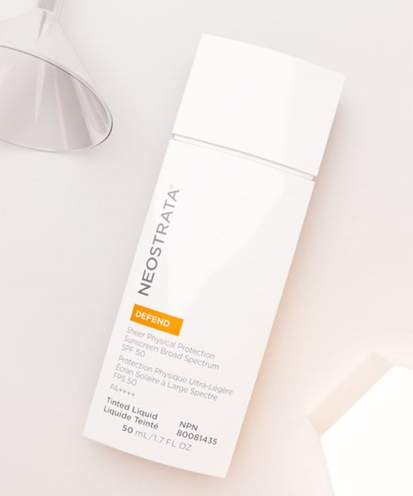 NEOSTRATA Defend Sheer Physical Protection Sunscreen Broad Spectrum SPF 50 PA4 Matte Finish Tinted Sunscreen mineralischer Sonnenschutz kaufen Deutschland bestellen Erfahrungen Ambient