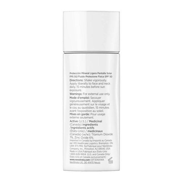 NEOSTRATA Defend Sheer Physical Protection Sunscreen Broad Spectrum SPF 50 PA4 Matte Finish Tinted Sunscreen mineralischer Sonnenschutz kaufen Deutschland bestellen Erfahrungen Bottle