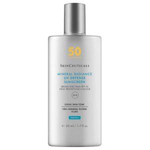 SKINCEUTICALS Mineral Radiance UV Defense SPF 50 Sunscreen getönte Sonnencreme Fluid Sonnenschutz kaufen Rabattcode Preisvergleich Erfahrungen