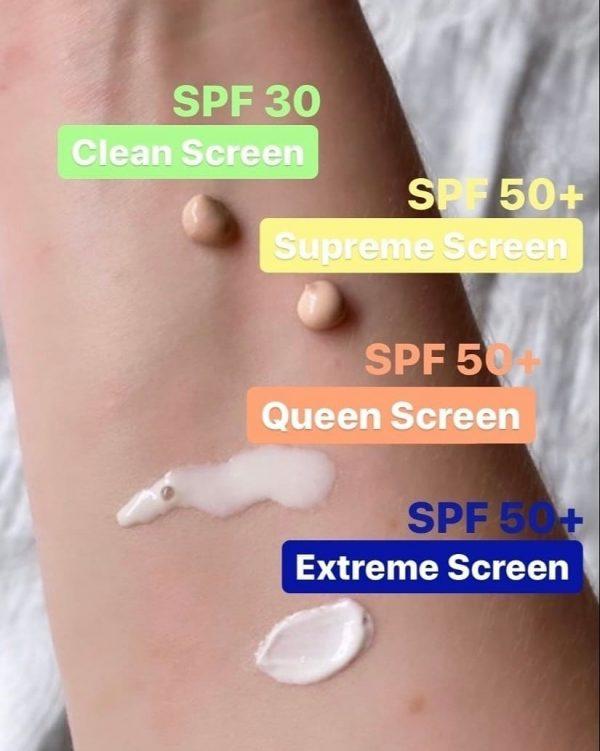 ULTRA VIOLETTE Sunscreen Swatches Textur Finish Farbe Sonnenschutz Sonnencreme Vergleich