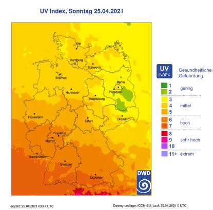 UV Index Sonnencreme UVA UVB Sonnenschutz Sonnenbrand vermeiden Falten Pigmentflecken