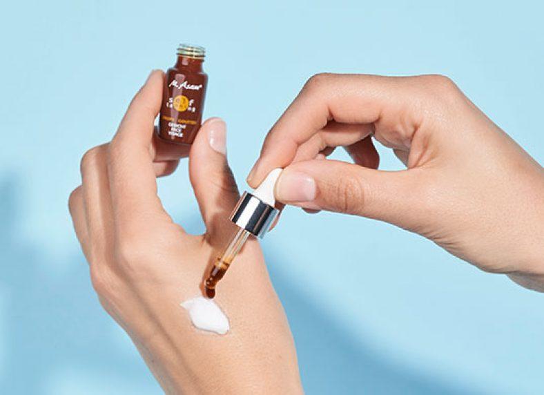 M. ASAM Self Tanning Drops Selbstbräuner-Konzentrat Tropfen Anwendung