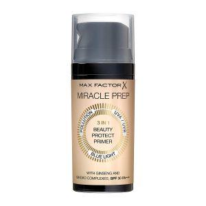 MAX FACTOR Miracle Prep 3-in-1 Beauty Protect Primer SPF 30 PA3 kaufen bestellen Erfahrungen Empfehlung Preisvergleich Rabattcode billiger