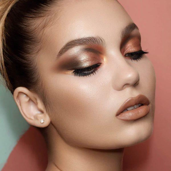 NATASHA DENONA Zendo Palette Eyeshadow Look Makeup Demo Bronze Brown