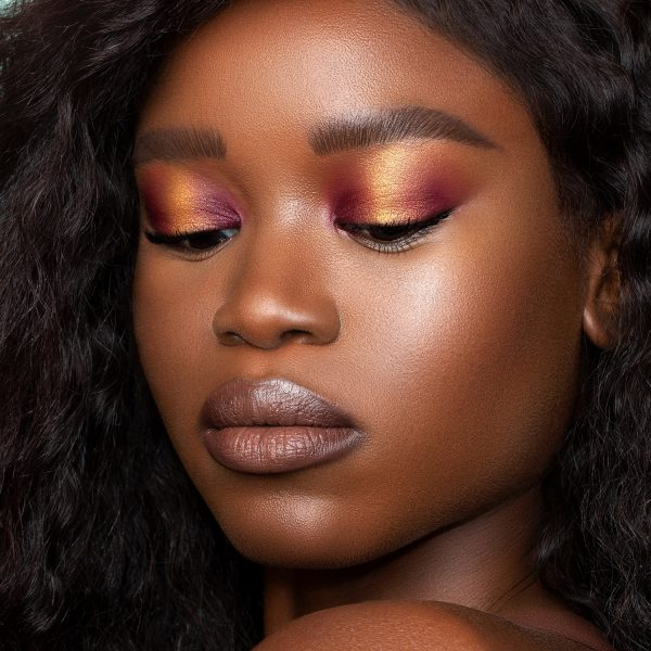 NATASHA DENONA Zendo Palette Eyeshadow Look Makeup Demo Plum Gold