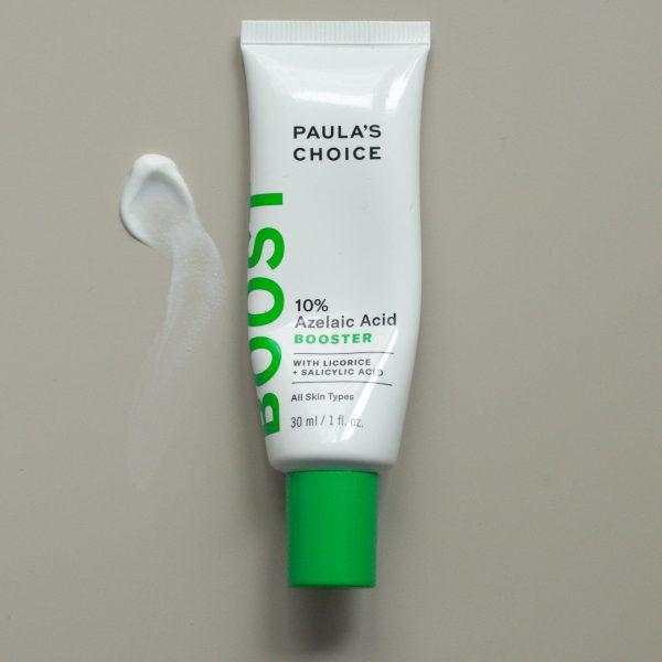 PAULAS CHOICE Azelaic Acid Booster 10 Azelainsäure Treatment Textur Pickel Akne Rosacea Erfahrungen Review Test