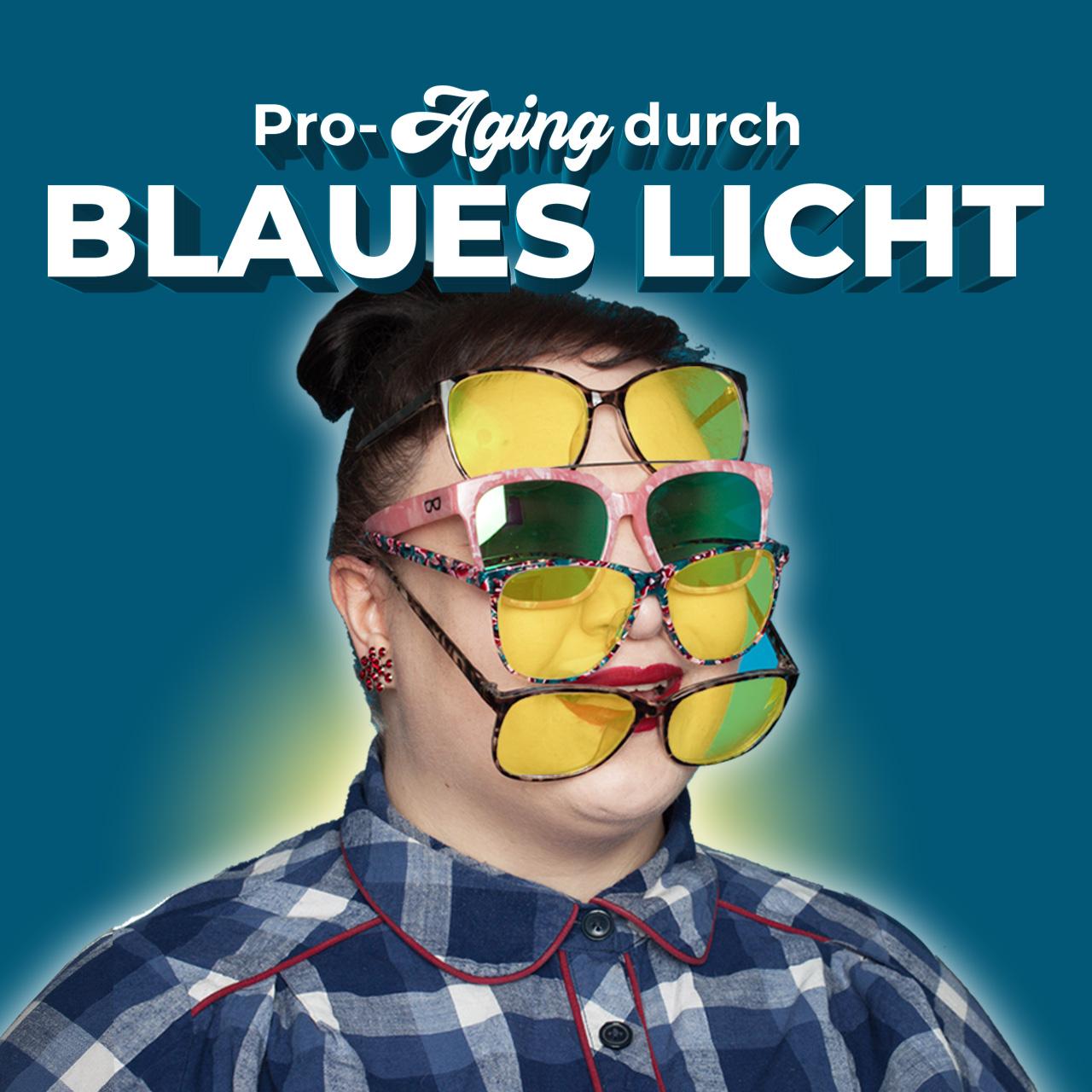 Schutz vor blauem Licht Sichtbares Visible Blue Light Anti-Aging Sonnenschutz SPF