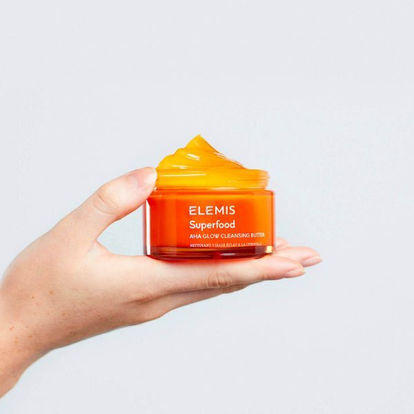 ELEMIS Superfood AHA Glow Cleansing Butter Oil Cleanser Reinigung Balm Tiegel