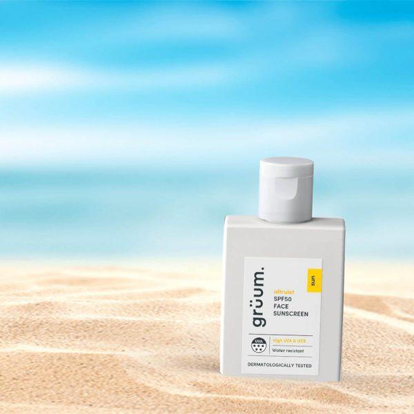 GRÜUM Altruist Skyda SPF50 Face Sunscreen gruum Ambient