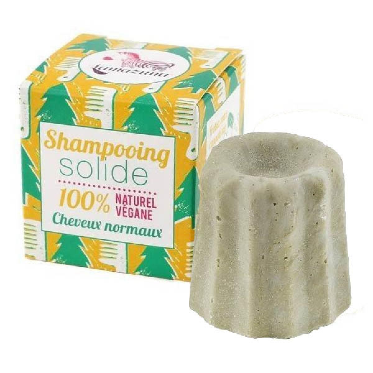 LAMAZUNA Festes Shampoo mit Weißtanne für normales Haar