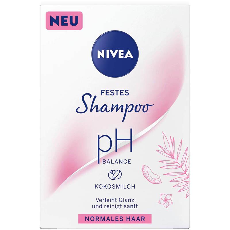 NIVEA festes Shampoo pH Balance Kokosmilch für normales Haar