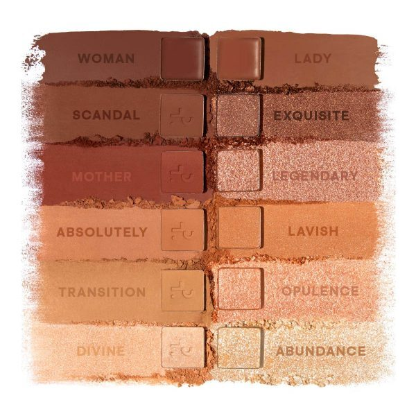 PATRICK TA Major Dimension Eyeshadow Palette Swatches Shades Colors Farben Nuancen