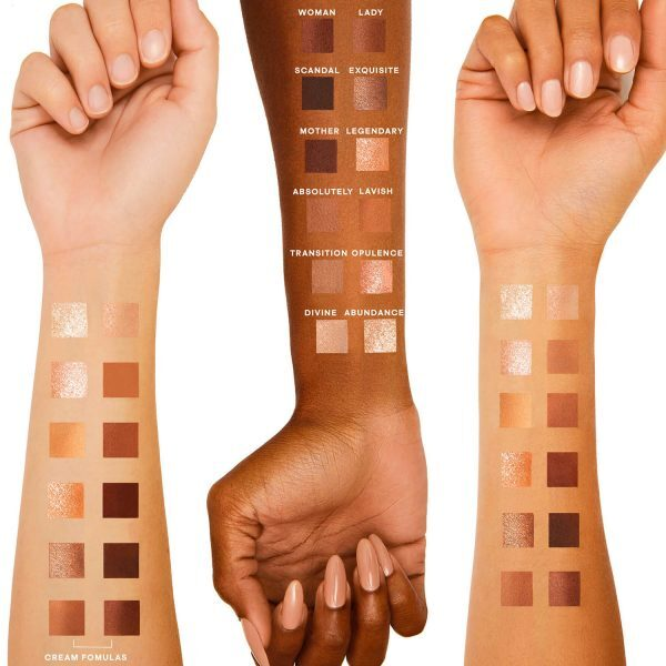 PATRICK TA Major Dimension Eyeshadow Palette Swatches Skin Shades Colors Farben Nuancen